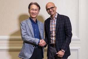 Gaming archenemies Microsoft and Sony sign a cloud gaming deal