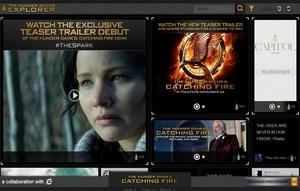 IE:tä mainostetaan elokuvan siivellä