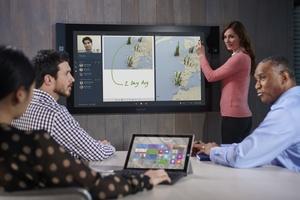 Microsoftin jättinäytöt tulevat myyntiin Suomessakin tänä vuonna