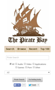 The Pirate Bay nu ook mobiel