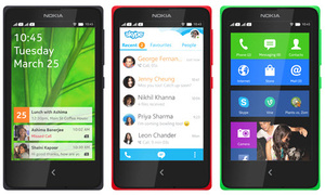 Gehackte Nokia X draait Google's Android apps en services