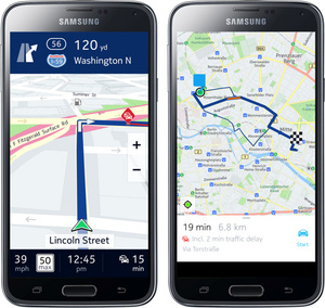Nokia expected to bring HERE mapping service to Android and iOS