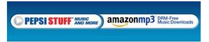Amazon.com ja Pepsi MP3-mainossopimukseen