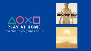 Sony tarjoaa PlayStationille ilmaiseksi Uncharted: The Nathan Drake Collectionin sekä Journey -pelin