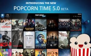 De nieuwste Popcorn Time v5.0 beta moeilijker offline te halen.