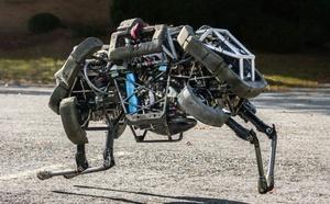 Google opkøber Boston Dynamics, firmaet bag robothunden BigDog