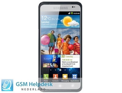 Here is the alleged Samsung Galaxy S III press shot, specs