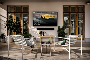 Samsungin ensimmäinen 4K QLED The Terrace -ulkotelevisio saapuu Suomen markkinoille