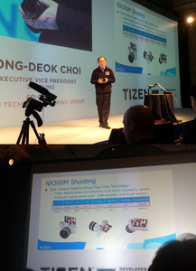 Samsung: First Tizen device is a camera