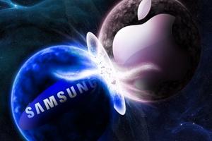 Samsungs milliarderstatning til Apple er blevet halveret