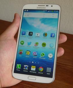 Testissä Samsung Galaxy Mega: Ison näytön tuolla puolen