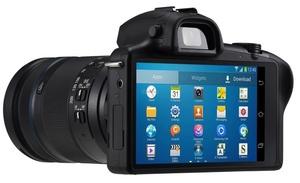 Samsungin Galaxy NX kuvissa: pieni järjestelmäkamera Androidilla