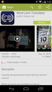 Google acquires 'magic' translation app Word Lens