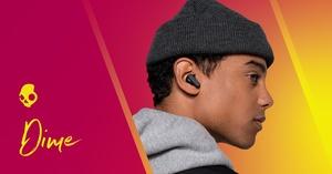 Skullcandylta vain 39,99 euron täysin langattomat Dime-kuulokkeet