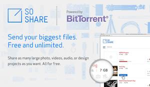 BitTorrentin uusi palvelu toimittaa jopa teratavun tiedostot perille