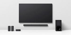 Sony julkaisi 5.1-kanavaisen äänentoistojärjestelmän langattomilla takakaiuttimilla