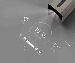 Sonyn uutuuslaite muuttaa kodin kaikki pinnat kosketusnäytöksi
