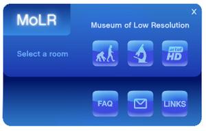 Sony promotoi Blu-raytä huumoripitoisella museosivustolla