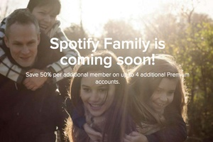 Spotify unveils Family plan allowing sharing between family at a discount