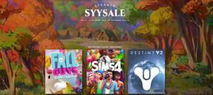 Steamin Syysale ja palkintotapahtuma alkoivat - pelejä alennuksessa 1.12. asti