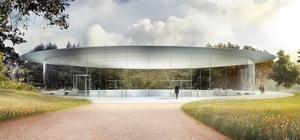 Applen ensimmäinen lehdistötilaisuus uudessa päämajassa alkoi Steve Jobsin puheella