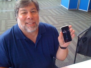 Woz loves his iPhone, but prefers Android for navigation and voice recognition