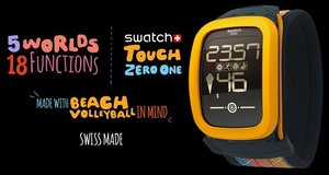 Swatch unveils first smartwatch/fitness tracker, marketed for volleyball players