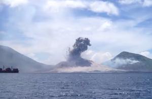 Kiitos mobiilikameroille: Ällistyttävä tulivuorenpurkaus taltioitui videolle