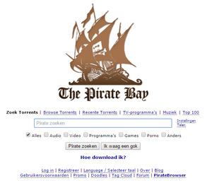 The Pirate Bay is weer volledig operationeel