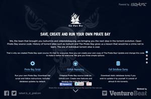 The Open Bay als kerstkado voor Pirate Bay fans