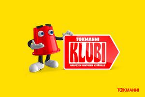 Tokmanni lanseeraa oman ilmaisen Tokmanni Klubi -kanta-asiakasohjelman - luvassa vaihtuvia etuja ja tarjouksia