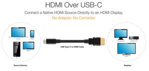 Adaptereille vaihtoehto: USB-C-HDMI-johdot tulossa markkinoille