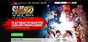 Virgin Gaming tarjoaa mahdollisuuden otella rahasta Super Street Fighter 4 -pelissä