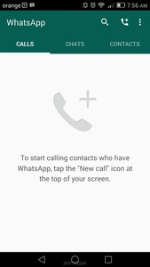 WhatsApp for Android updated with Material Design