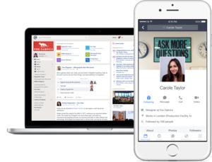 """Facebook esitteli Workplacen: Yritykset voivat perustaa """"sisäisen Facebookin"""""""