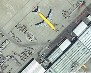 Digital Globe publiceert eerste beelden van de nieuwe WorldView-3 satelliet.
