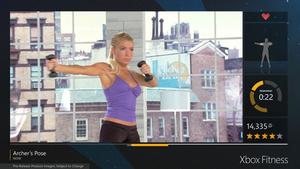 Xbox Fitness -palvelu pistää vibaa punttiin - kahdessa kuukaudessa lähes 1,5 miljoonaa treeniä
