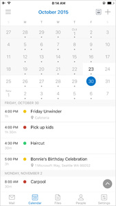 Microsoft integrates Sunrise tech into its updated Outlook for Android, iOS apps