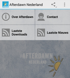 Android app voor Afterdawn