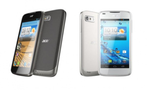 Acer shows off two new Android 4.0 phones