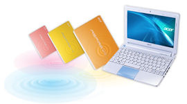 Acer intros colorful new netbooks