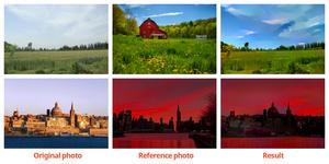 Adoben kokeellinen ominaisuus yhdistää kuvan tunnelman toiseen näyttävin seurauksin