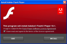 Adobe Flash Player 10.1 for Windows, Linux and Mac available