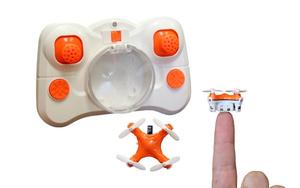 Maailman pienin drone-lennokki on vain kolikon kokoinen