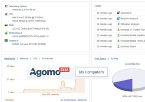 Agomo, de nieuwe cloud-gebaseerde PC optimalisatietool