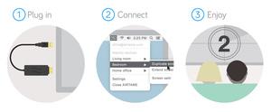 Dansk projekt lader dig trådløst streame dit skærmbillede til andre skærme