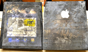 Woman scammed into buying block of wood with Apple logo sold as an iPad