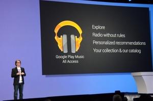 Google lanceert muziekdienst Play Music All Access in Europa