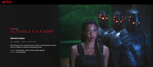 Tässä kaikki helmikuussa palaavat Netflix-sarjat: Altered Carbon, Narcos: Mexico...