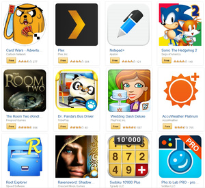 Amazon starts large sale in its Android Appstore
